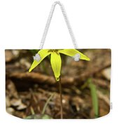 Yellow Trout Lily 1 Weekender Tote Bag