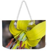 Yellow Trout Lily Weekender Tote Bag