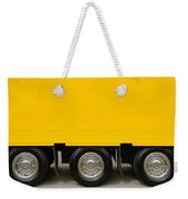 Yellow Truck Weekender Tote Bag