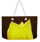 Yellow Tulip 3 Weekender Tote Bag