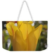 Yellow Tulip Weekender Tote Bag
