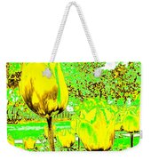 Yellow Tulips Abstract Weekender Tote Bag