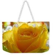 Yellow Valentine Roses - 4 Weekender Tote Bag