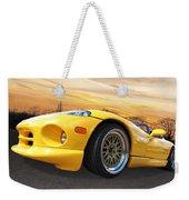 Yellow Viper Rt10 Weekender Tote Bag