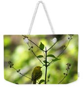Yellow Warbler In A Tree 2 Weekender Tote Bag