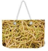 Yellow Wax Beans Weekender Tote Bag
