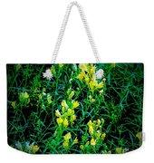 Yellow Wild Flowers In Late Summer Weekender Tote Bag