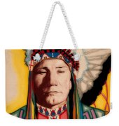 Yellowhead, A North America Indian Medical Practitioner Weekender Tote Bag