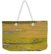 Yellowstone Bison 2 Weekender Tote Bag