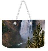 Yellowstone Grand Canyon Falls Weekender Tote Bag