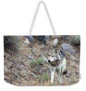 Yellowstone Grey Wolf Weekender Tote Bag