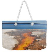 Yellowstone Lake And West Thumb Geyser Flow Weekender Tote Bag