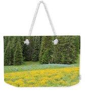 Yellowstone Meadow Weekender Tote Bag