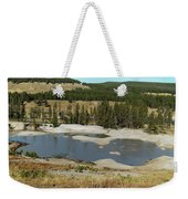 Yellowstone Mineral Ponds Weekender Tote Bag