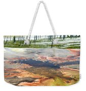 Yellowstone Park Firehole Spring Area Vertical 02 Weekender Tote Bag