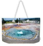 Yellowstone Park Firehole Spring In August 02 Weekender Tote Bag