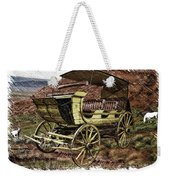 Yellowstone Park Stage Coach With Horses Pa 01 Weekender Tote Bag