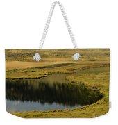 Yellowstone River Pond Weekender Tote Bag