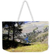 Yellowstone River Vista Weekender Tote Bag