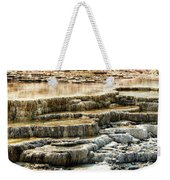 Yellowstone Rock Formation Weekender Tote Bag