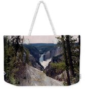 Yellowstone Water Fall Weekender Tote Bag