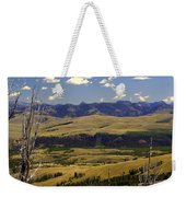Yellowstone Vista Weekender Tote Bag