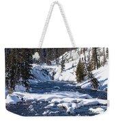 Yellowstone Winter One Weekender Tote Bag