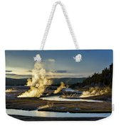 Yellowstone's Midway Geyser Basin  Weekender Tote Bag