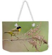 Yellowthroat Warbler Weekender Tote Bag