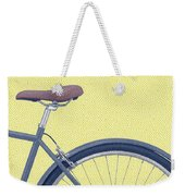 Yelow Bike Weekender Tote Bag
