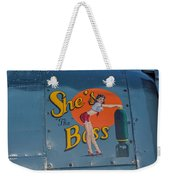 Yes, She Is Weekender Tote Bag