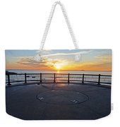 Yes, The Sun Rises To The East Red Rock Park Lynn Shore Drive Weekender Tote Bag