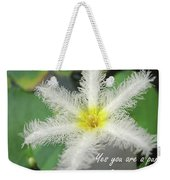 Yes You Are A Pure Shining Star Weekender Tote Bag