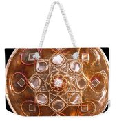 Yesirah Copper Lightmandala Weekender Tote Bag