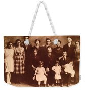 Yesteryears-grandfather Philip And Our Family Weekender Tote Bag