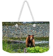 Yikes, It's A Grizzly Weekender Tote Bag