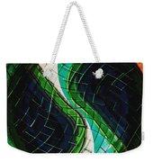 Yin Yang Abstract Weekender Tote Bag