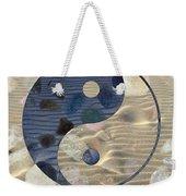 Yin Yang Harmony Weekender Tote Bag