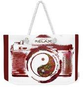 Yin Yang Photo Can Weekender Tote Bag