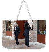Ying Yang Weekender Tote Bag