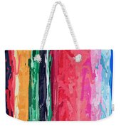 Yipes Stripes Weekender Tote Bag