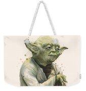 Yoda Portrait Weekender Tote Bag