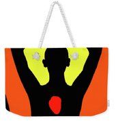 Yoga Lotus Weekender Tote Bag