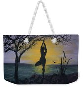 Yoga Tree Pose Weekender Tote Bag