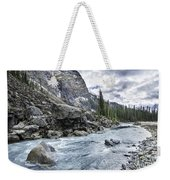Yoho River At Takakkaw Falls Weekender Tote Bag