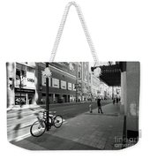 Yonge And Queen In Toronto Weekender Tote Bag