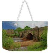 Yorkshire Bridge - P4a16015 Weekender Tote Bag