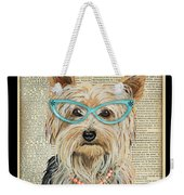 Yorkshire Terrier-jp3856 Weekender Tote Bag