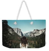 Yosemite Awe Weekender Tote Bag