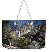 Yosemite Falls Tree Weekender Tote Bag